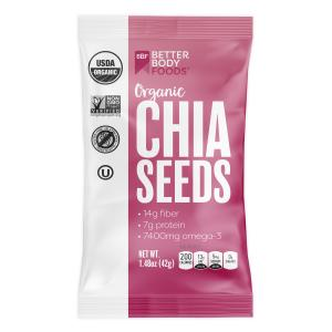 BetterBody Foods Organic Chia Seeds