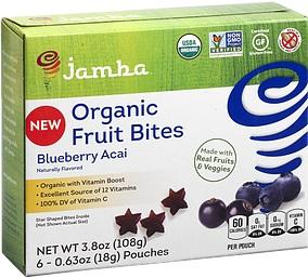 Jamba Organic Blueberry Acai Fruit Bites
