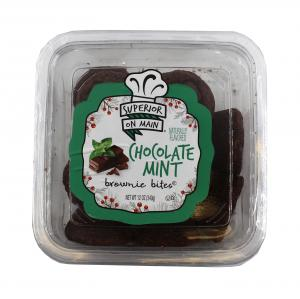 Superior on Main Chocolate Mint Brownie Bites