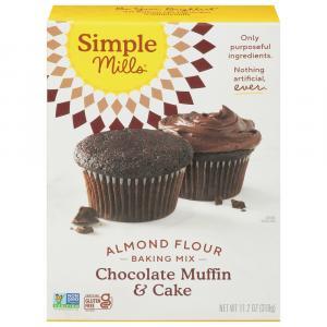 Simple Mills Chocolate Muffin & Cake Almond Flour Mix