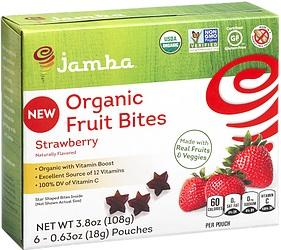 Jamba Organic Strawberry Fruit Bites