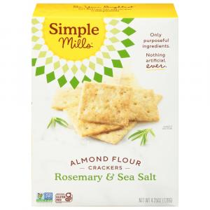 Simple Mills Rosemary & Sea Salt Almond Flour Crackers