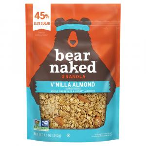 Bear Naked Low Sugar Vanilla Almond Crunch Granola Cereal