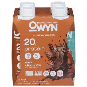 OWYN Plant Based Protein Shake Dark Chocolate