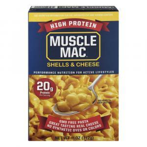 Muscle Mac Shells & Cheese Dinner