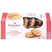 Poppies Belgian Chocolate Macaroons Gluten Free