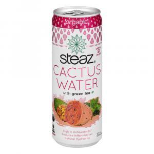 Steaz Organic Cactus Water With Green Tea