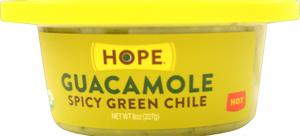 Hope Organic Spicy Green Chile Guacamole