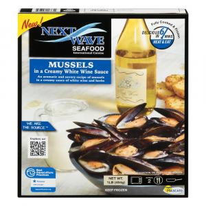 Bantry Bay Mussel in Creamy White Wine Sauce