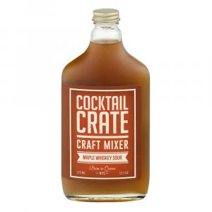 Cocktail Crate Craft Mixer Maple Whiskey Sour