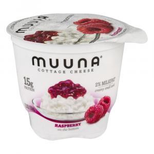 Muuna Raspberry Cottage Cheese