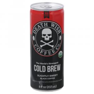 Death Wish Coffee Company Organic Cold Brew Coffee