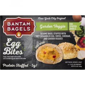 Bantam Garden Vegetable Egg Bite