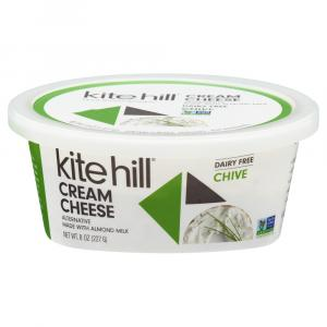 Kite Hill Chive Cream Cheese Alternative
