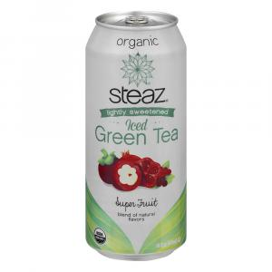 Steaz Organic Iced Green Tea Super Fruit