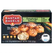 Bantam Everybody's Favorite Mini Bagel