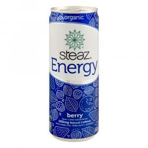 Steaz Organic Berry Energy Drink