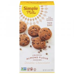Simple Mills Gluten Free Crunchy Double Chocolate Cookies