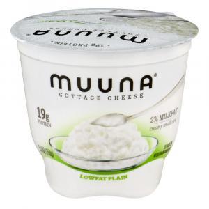 Muuna Plain 2% Milkfat Lowfat Cottage Cheese