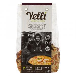 Yelli Orzo Pasta & Lentil Soup Mix