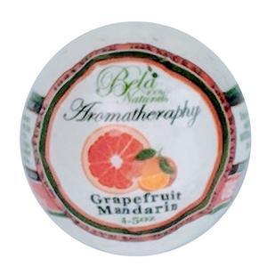 Bela Grapefruit Mandarin Bath Bomb