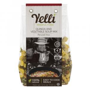 Yelli Quinoa & Vegetable Soup Mix