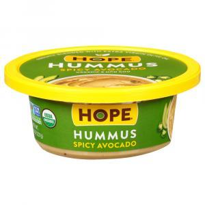 Hope Organic Spicy Avocado Hummus