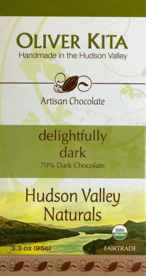Oliver Kita Organic Delightfully Dark Candy Bar