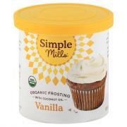 Simple Mills Organic Vanilla Frosting