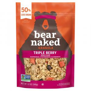 Bear Naked Low Sugar Triple Berry Crunch Granola Cereal