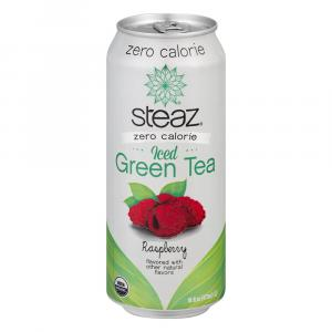 Steaz Zero Calorie Iced Green Tea Raspberry