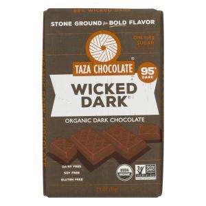 Taza Organic Wicked Dark Chocolate