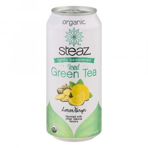 Steaz Organic Iced Green Tea Lemon Ginger