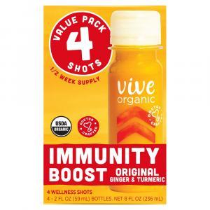 Vive Organic Immunity Boost Original Wellness Shot