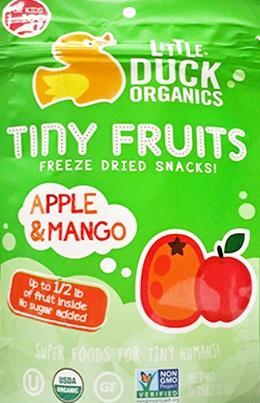 Little Duck Organic Tiny Fruits Apple & Mango