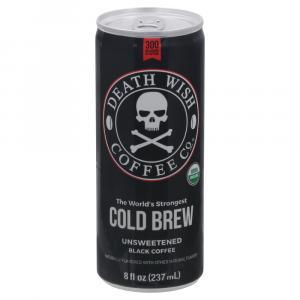 Death Wish Coffee Company Organic Cold Brew Coffee