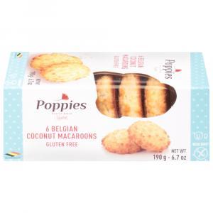 Poppies Belgian Coconut Macaroons Gluten Free