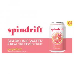 Spindrift Grapefruit Sparkling Water