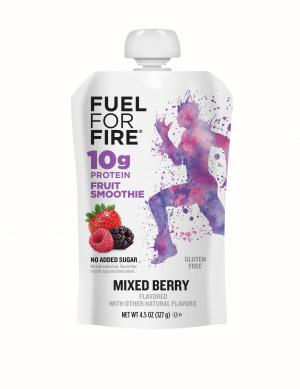 Fuel For Fire Gluten Free Protein Smoothie Mixed Berry