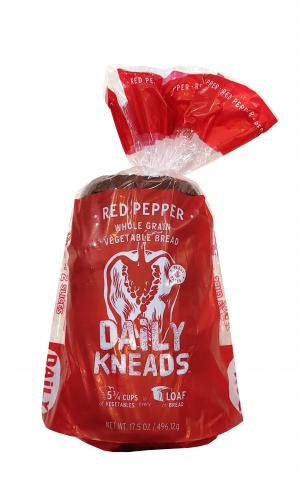 Daily Kneads Red Pepper Whole Grain Loaf
