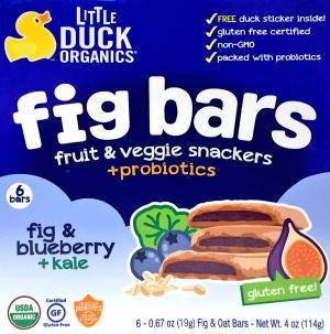 Little Duck Organic Blueberry & Kale Fig Bars