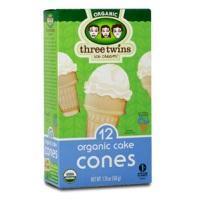 Three Twins Organic Cake Ice Cream Cones