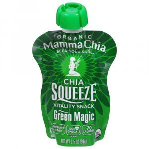 Mamma Chia Green Magic Squeeze Pouch