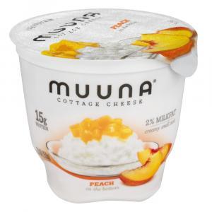 Muuna Peach Cottage Cheese