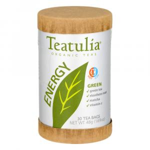 Teatulia Organic Energy Green Tea