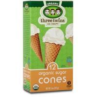 Three Twins Organic Sugar Ice Cream Cones