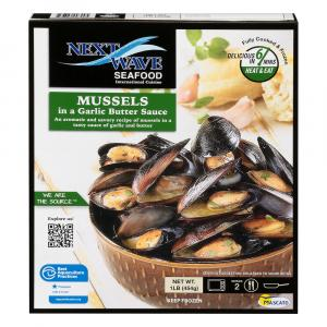 Bantry Bay Mussels in Garlic Butter Sauce