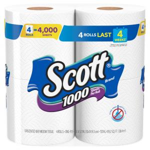 Scott 1000 Count White Bath Tissue