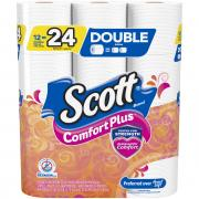 Scott Comfort Plus Double Roll Bath Tissue