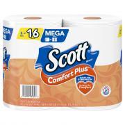 Scott Comfort Plus Mega Roll Bath Tissue